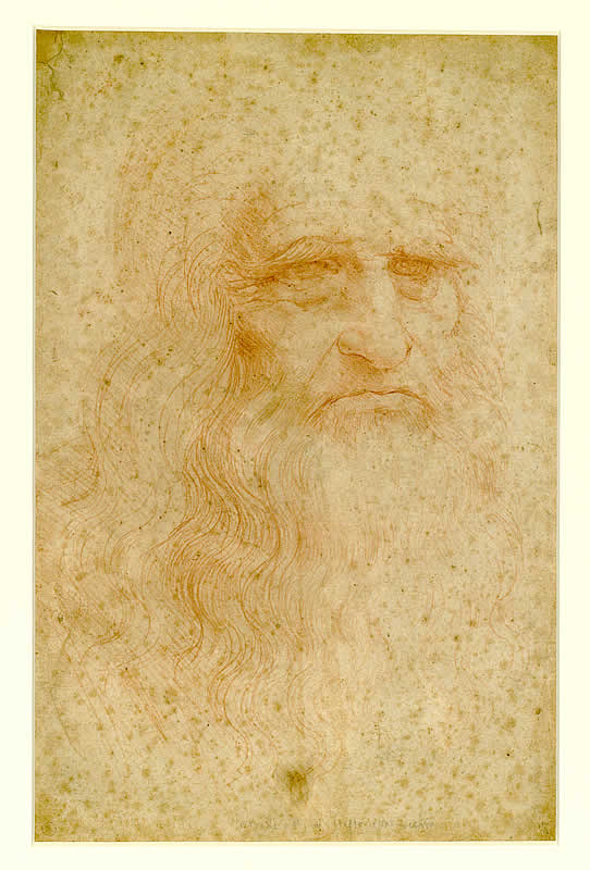 Leonardo's self-portrait